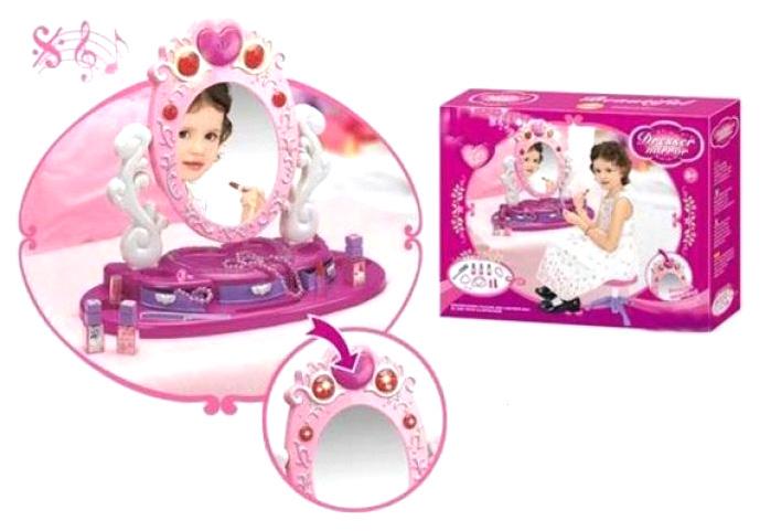 Купить Трюмо Кокетка, 18 аксесс., свет, звук Y2108172 Наша Игрушка, Наша игрушка, Игрушечные туалетные столики