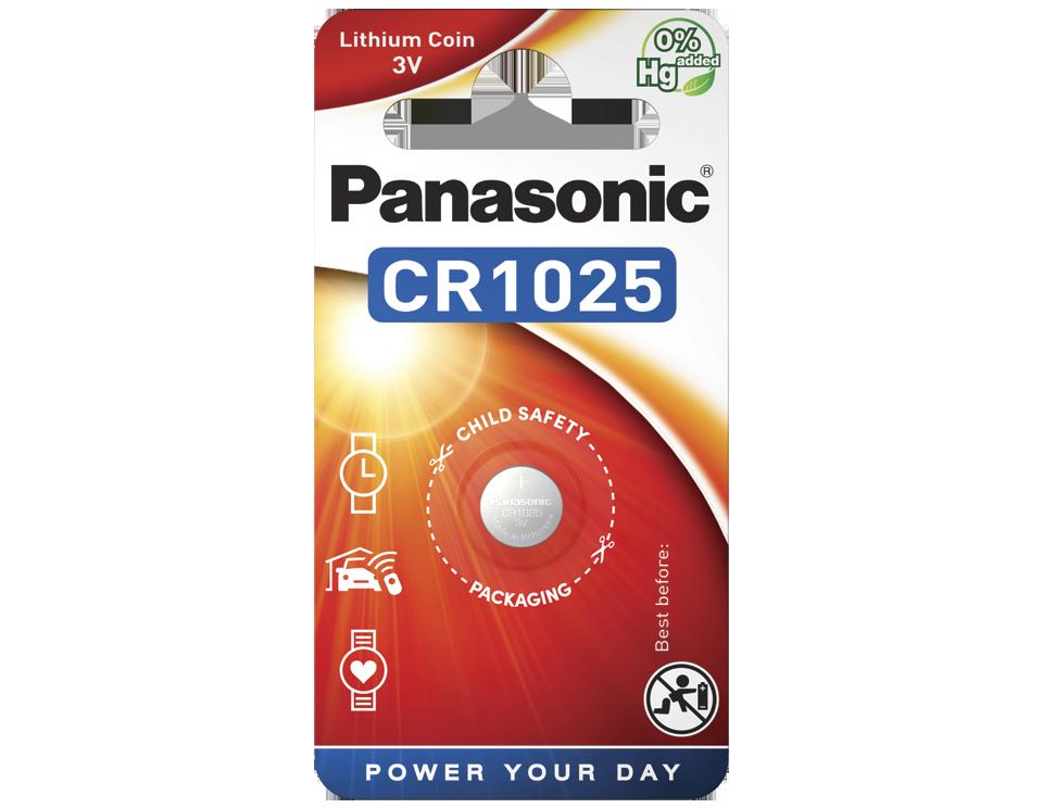 Батарейка Panasonic CR 1025EL/1B 1 шт