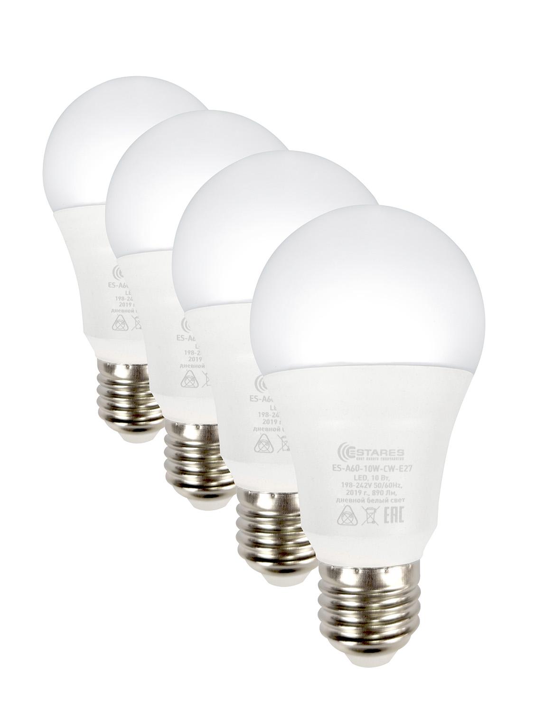 Светодиодные лампы Estares 10W E27, комплект