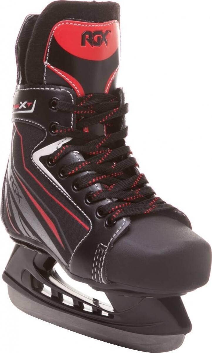 Коньки хоккейные RGX RGX-Next черные/красные, 44 фото