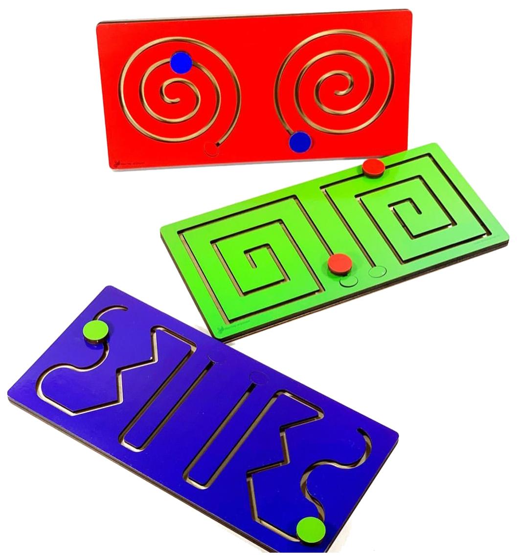 Купить Логическая игра Мастер Игрушек Полушарные доски IG0323 3 шт, Мастер игрушек,