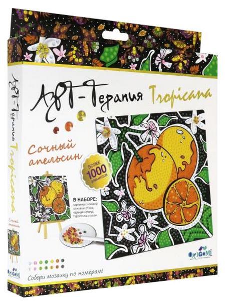 Мозаика Origami Алмазные узоры Арт-терапия Сочный апельсин 04733
