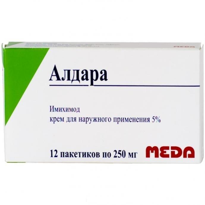 Алдара крем 5 % 250 мг