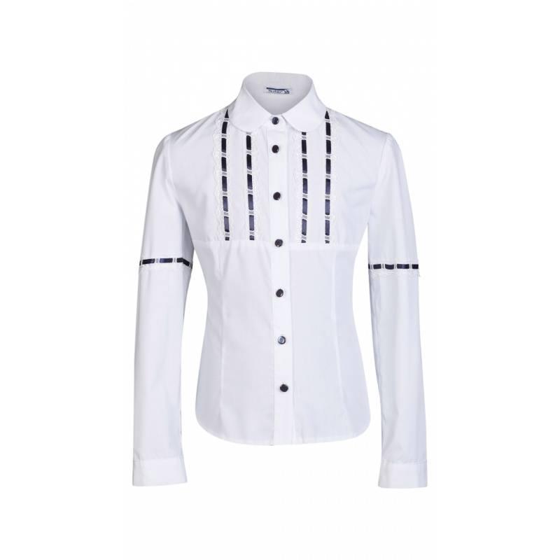 Купить ШФ-1057, Блузка SkyLake, цв. белый, 36 р-р, Блузки для девочек