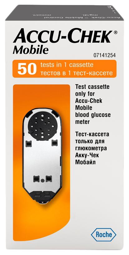 Тест кассета для глюкометра Accu Chek mobile
