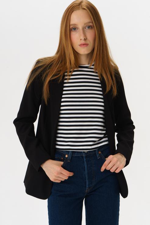 Пиджак женский ICHI 20110338 черный 40 EU