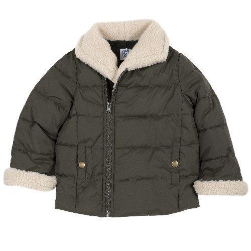 Купить 9087443, Куртка Chicco для мальчиков р.128 цв.темно-зеленый,