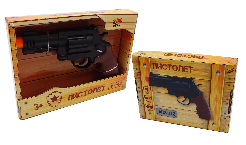 Купить Пистолет, световые и звуковые эффекты, , ABtoys, Игрушечные пистолеты