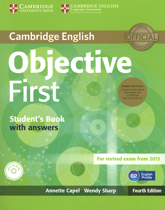 Objective First. Student\'S Book Without Answers