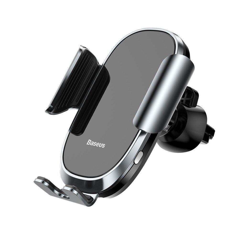 Держатель для смартфона Baseus Smart Car Mount Cell Silver