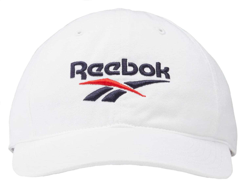 Бейсболка Reebok Classics Vector, One Size, white фото