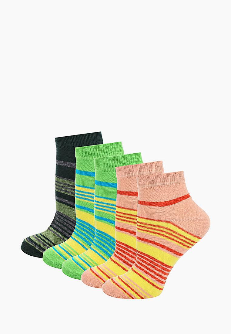 Набор носков женский Тульский трикотаж С347-5 разноцветный