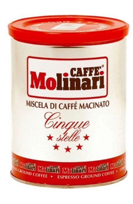 Кофе молотый Molinari 5 звезд 250 г фото