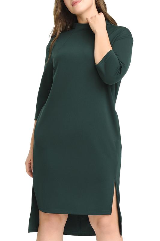 Платье женское SVESTA RL956VERF зеленое 54 RU фото