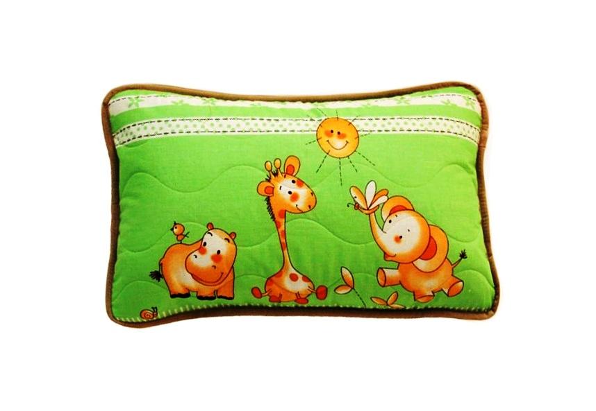 Декоративная наволочка ALTRO Zoo Цвет: Зеленый (40х60)