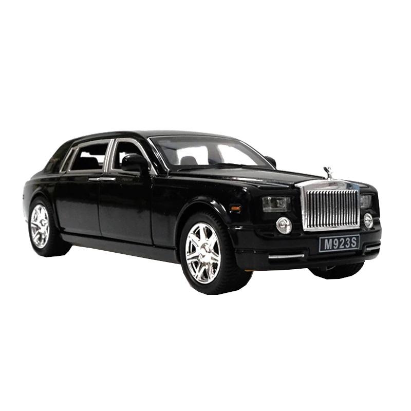 Купить Коллекционная модель машины представительский седан RR инерционная 20.5см, цв. черный, Shantou Gepai, Игрушечные машинки