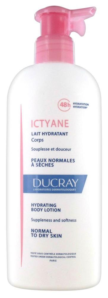 Молочко для тела Ducray Ictyane Lait Hydratant 400 мл  - Купить