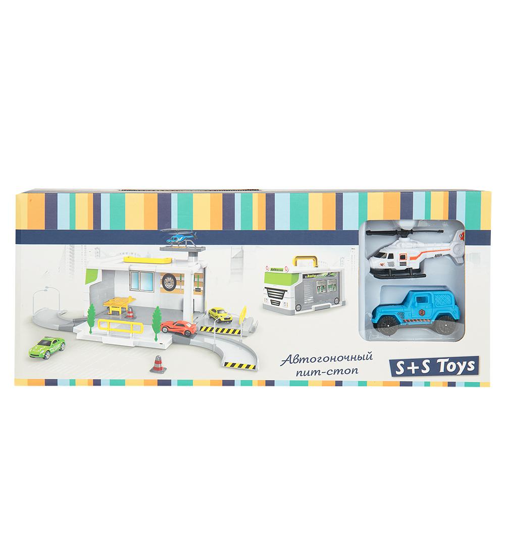 Набор игровой автогоночный пит-стоп S+S Toys