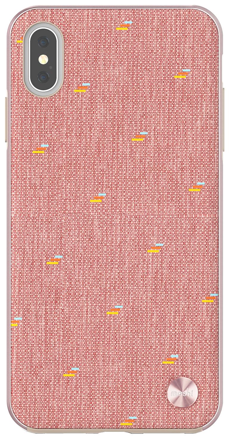 Чехол Apple Moshi Vesta для iPhone XS Max розовый 99MO116302