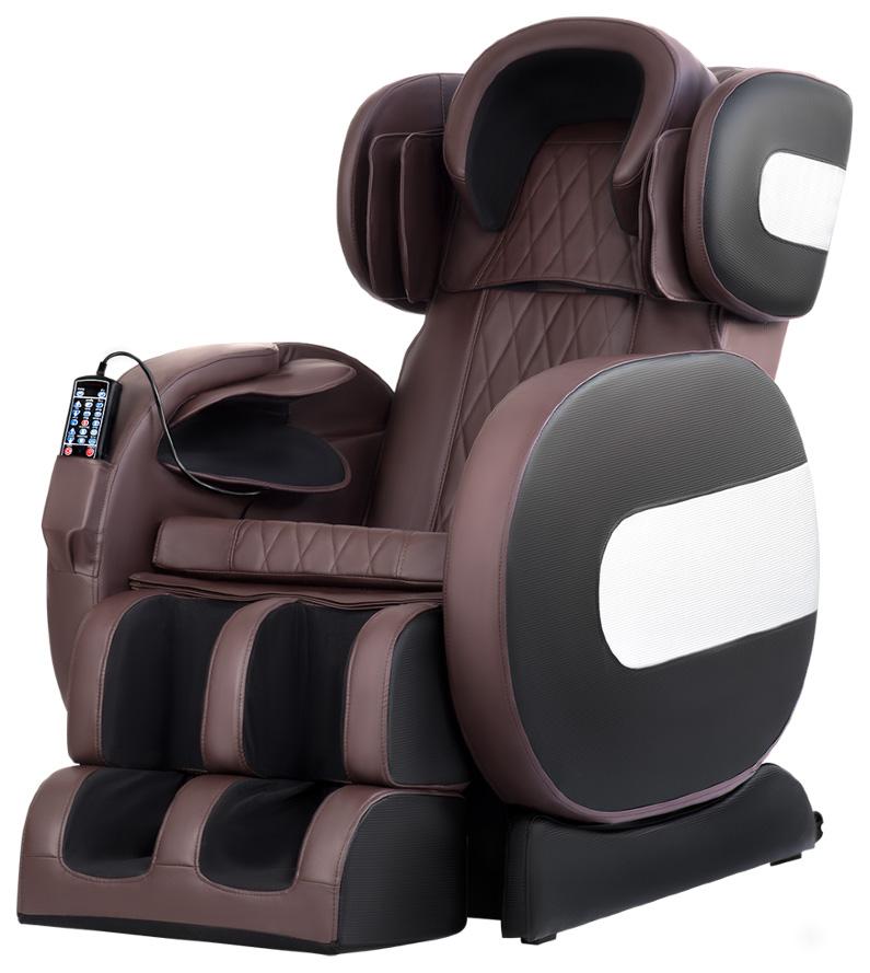 Массажное кресло VictoryFit VF M81 коричневое