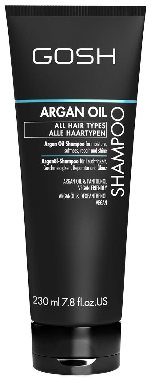 Купить Шампунь GOSH Argan Oil Shampoo 230 мл, GOSH COPENHAGEN