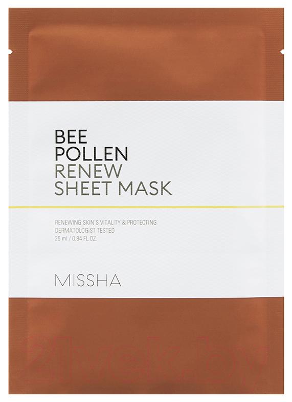 Маска для лица Missha Bee Pollen Renew Sheet 15 г фото