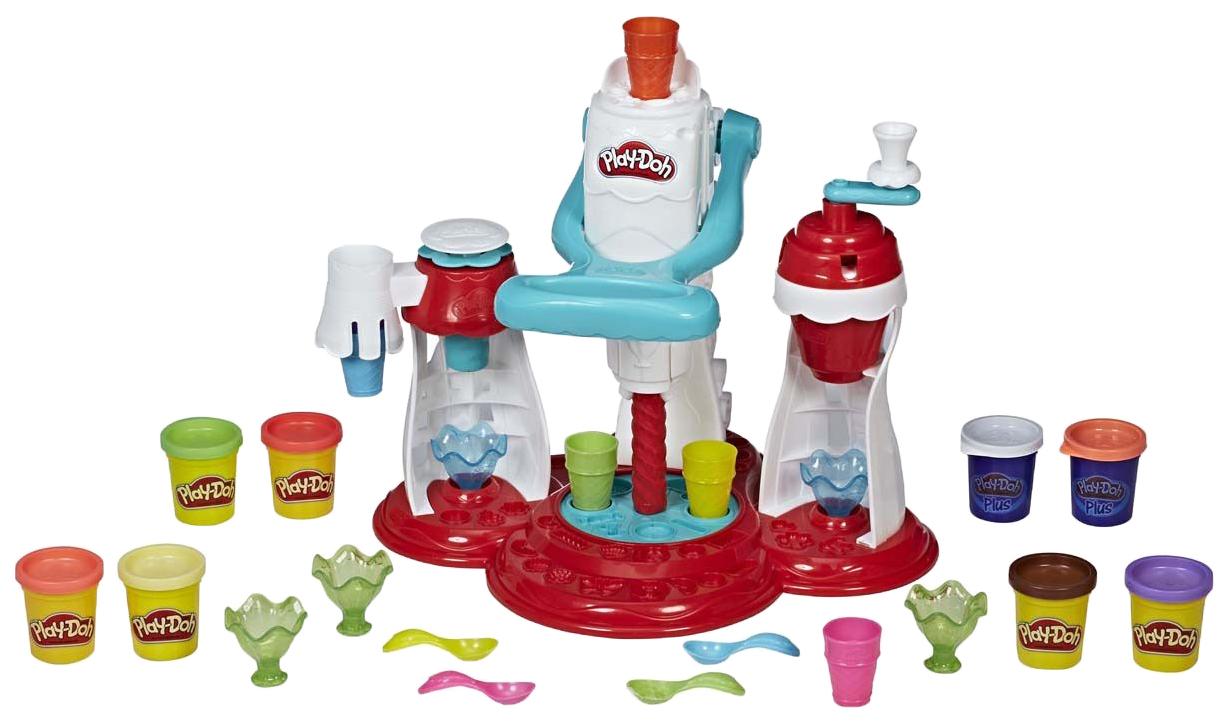 Купить Игровой набор Play-Doh Мир Мороженого , Hasbro, Наборы для лепки Play-Doh