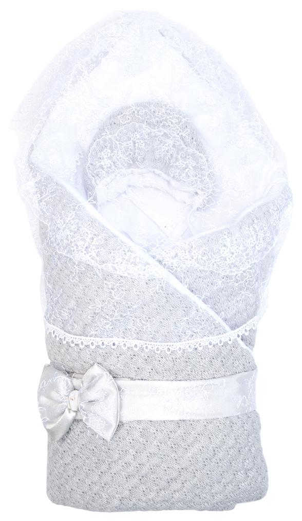 Купить Комплект на выписку Сонный Гномик Жемчужинка серый 1709/5, Сонный гномик, Одеяла для новорожденных