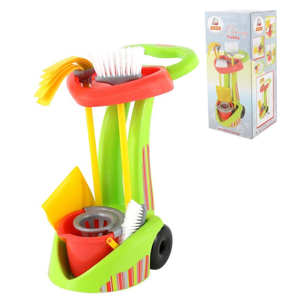 Купить Набор Чистюля-2 6 элементов в коробке Palau Toys 68644_PLS, Детские наборы для уборки
