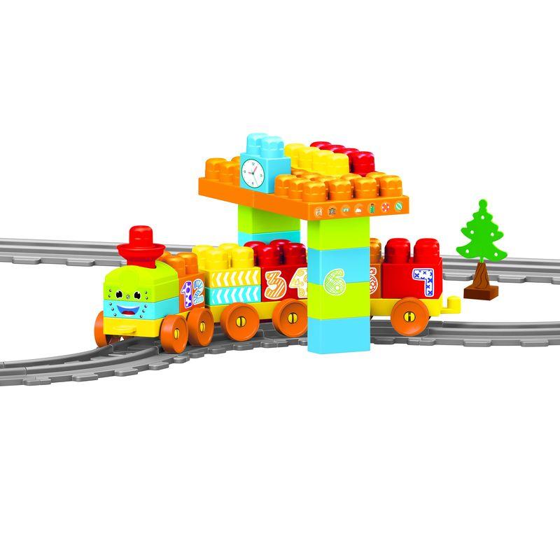 Купить Моя первая железная дорога с конструктором Dolu 58 элементов 224 см DL_5081, Детские железные дороги