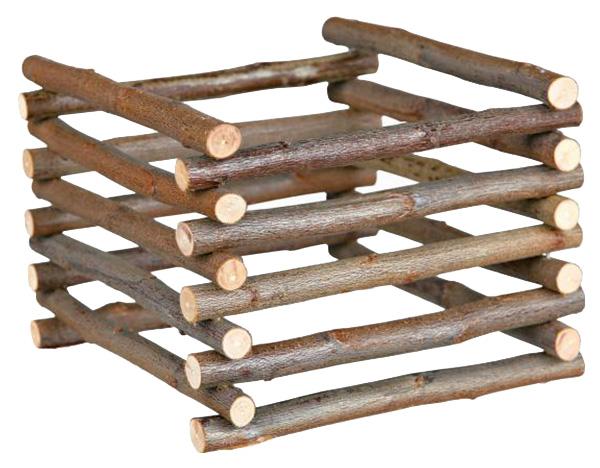 Сенница для грызунов TRIXIE, напольный, коричневый 15х11х15