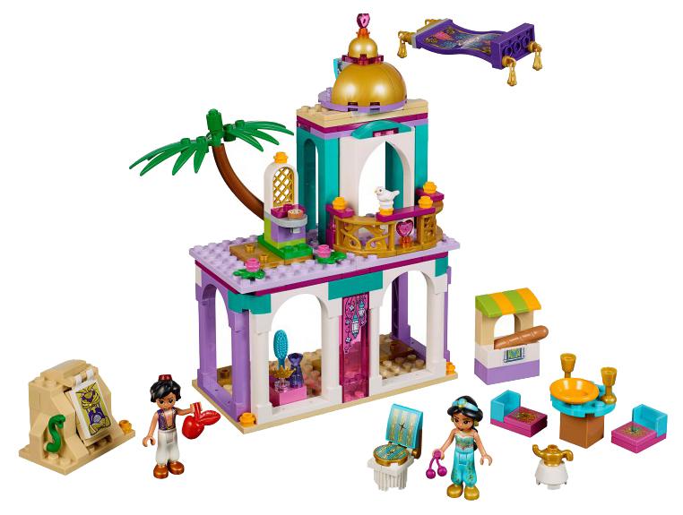 Конструктор LEGO Disney Princess 41161 Приключения Аладдина и Жасмин во дворце