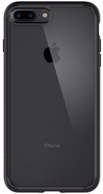 Чехол-накладка Spigen Ultra Hybrid 2 (043CS21137) для iPhone 7 Plus (Black)