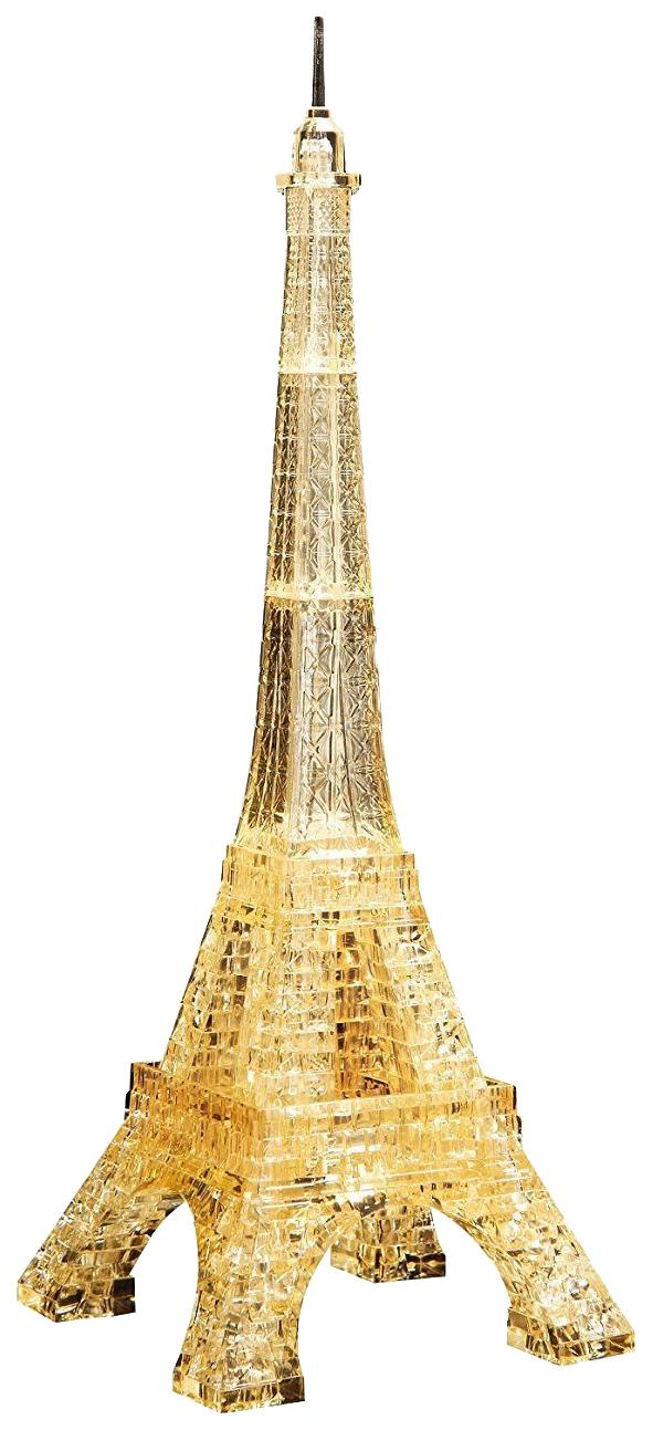 Объемные 3D-пазлы Crystal Puzzle Эйфелева башня золотой 96 элементов