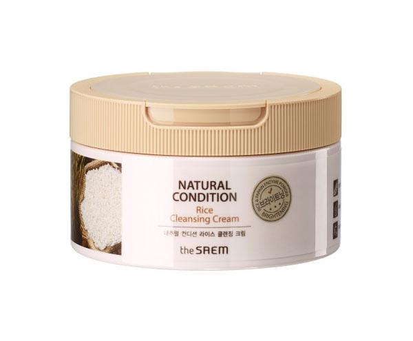 Купить Средство для очищения The Saem Natural Condition Rice Cleansing Cream 300 мл