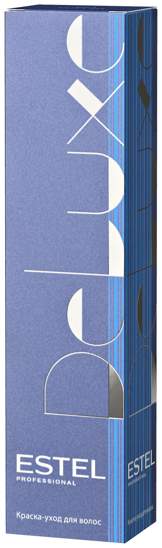 Краска для волос Estel De Luxe 10/61 Светлый блондин фиолетово-пепельный 60 мл