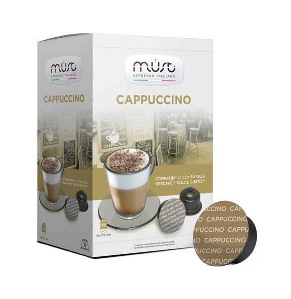 Кофе Must сappucino в капсулах 16 капсул