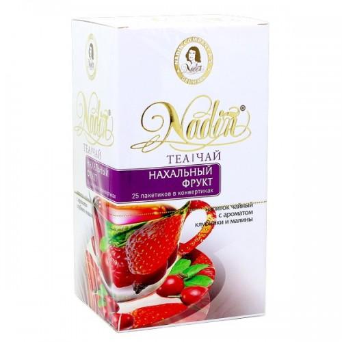 Чайный напиток Nadin нахальный фрукт 25 пакетиков