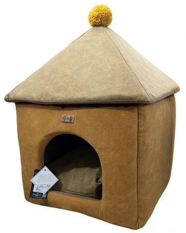 Домик для собак Anteprima купол PONGIALL01 бежевый