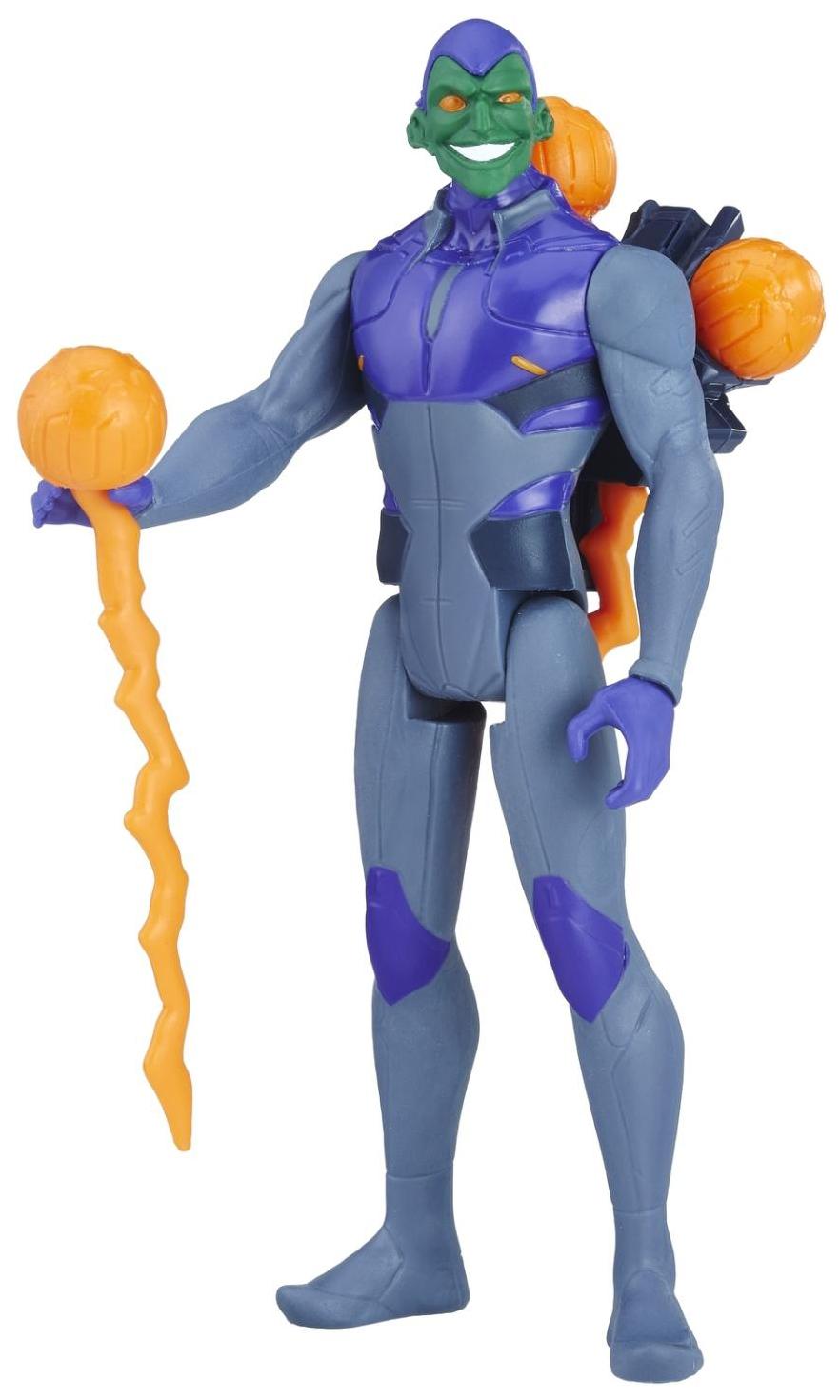 Фигурка Человека-Паука Hasbro Spider-Man E0808/E1107 Хобгоблин с аксессуарами
