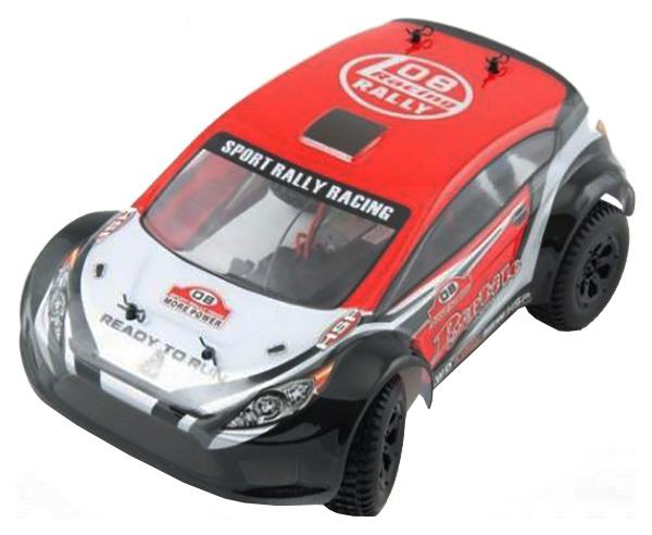 Радиоуправляемая машинка HSP Reptile Rally Car 4WD Красный/Черный