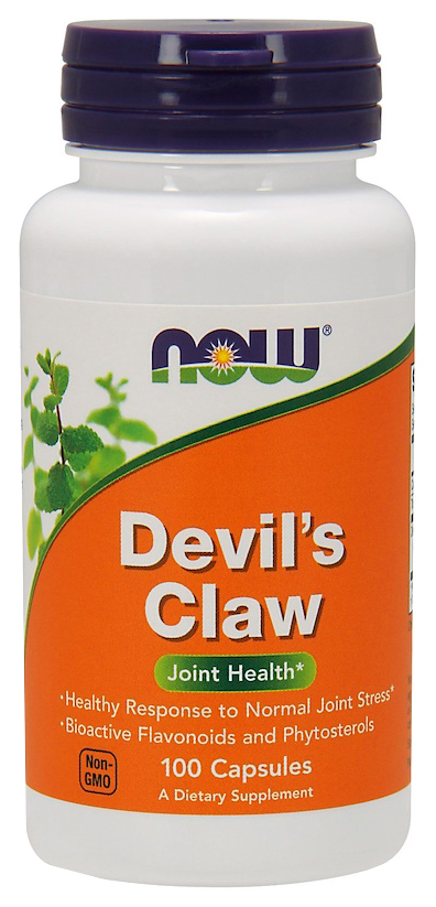 Купить Добавка для здоровья NOW Devil's Claw Root 100 капс. натуральный