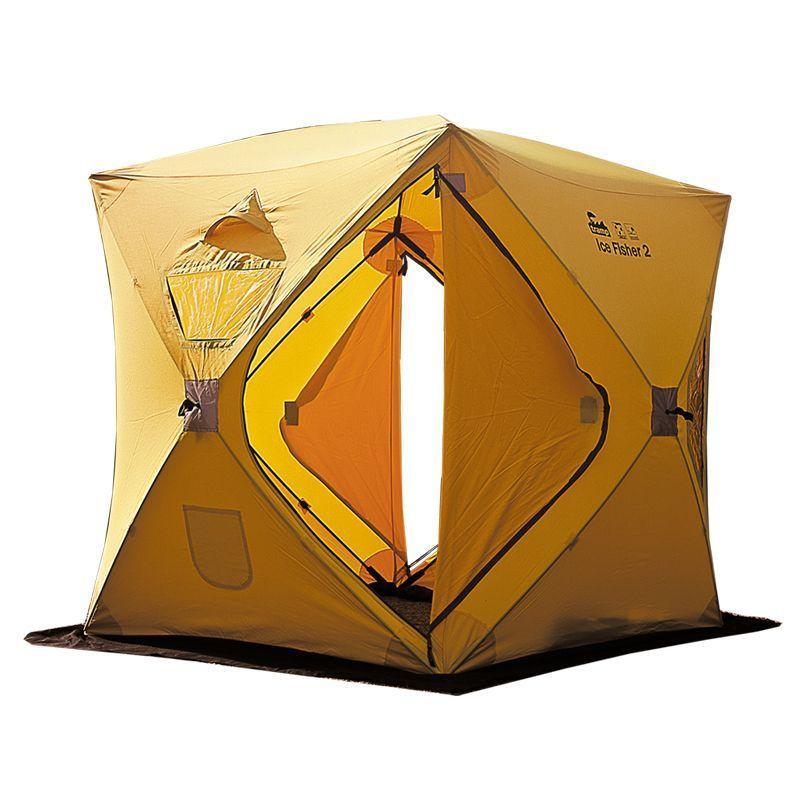 Палатка Tramp IceFisher 2 желтый Цвет желтый