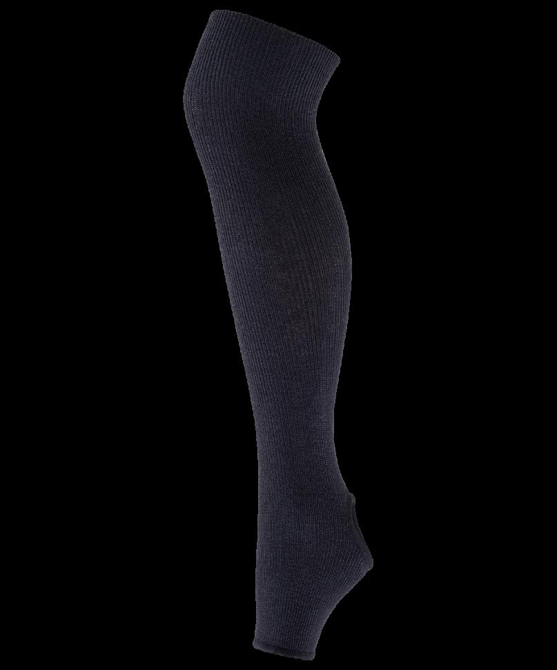 Гетры женские Amely GS 201, черные, 55 см