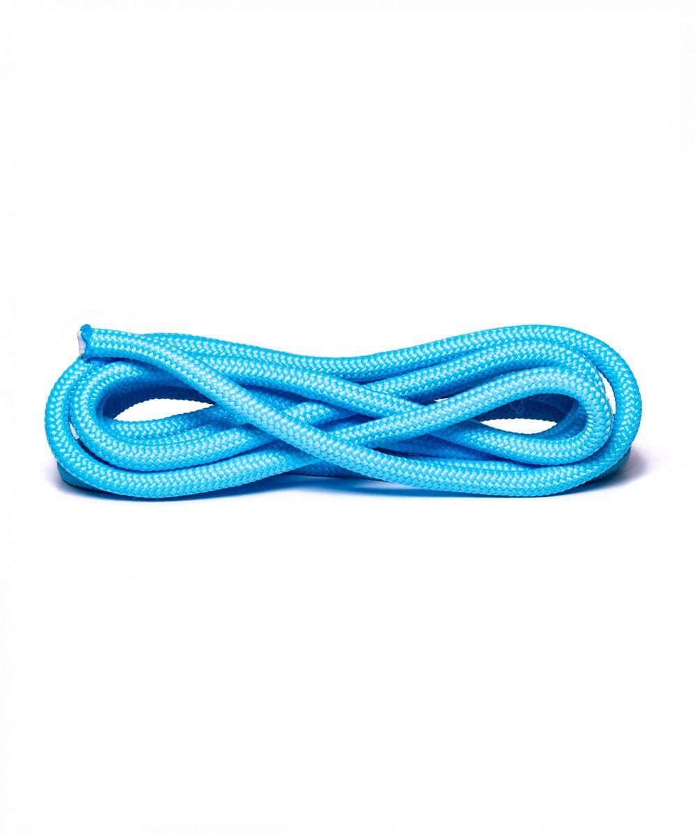 Скакалка для художественной гимнастики Amely RGJ-104, 3м, голубой