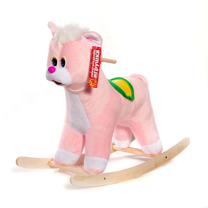 Качалка детская Нижегородская игрушка Кот См-750-4К фото