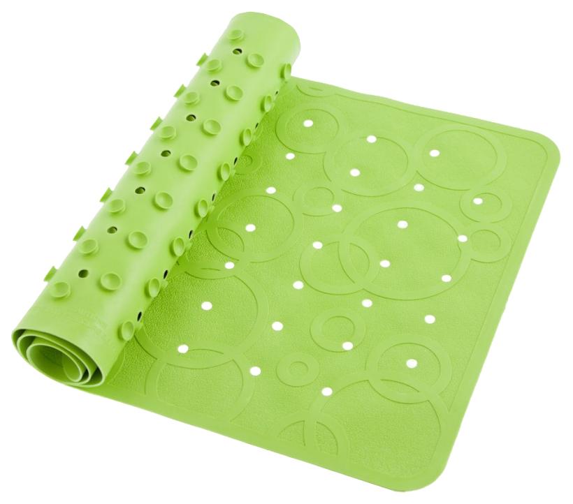 Купить Roxy kids коврик резиновый антискользящий для ванны 35x76см салатовый, Аксессуары для купания