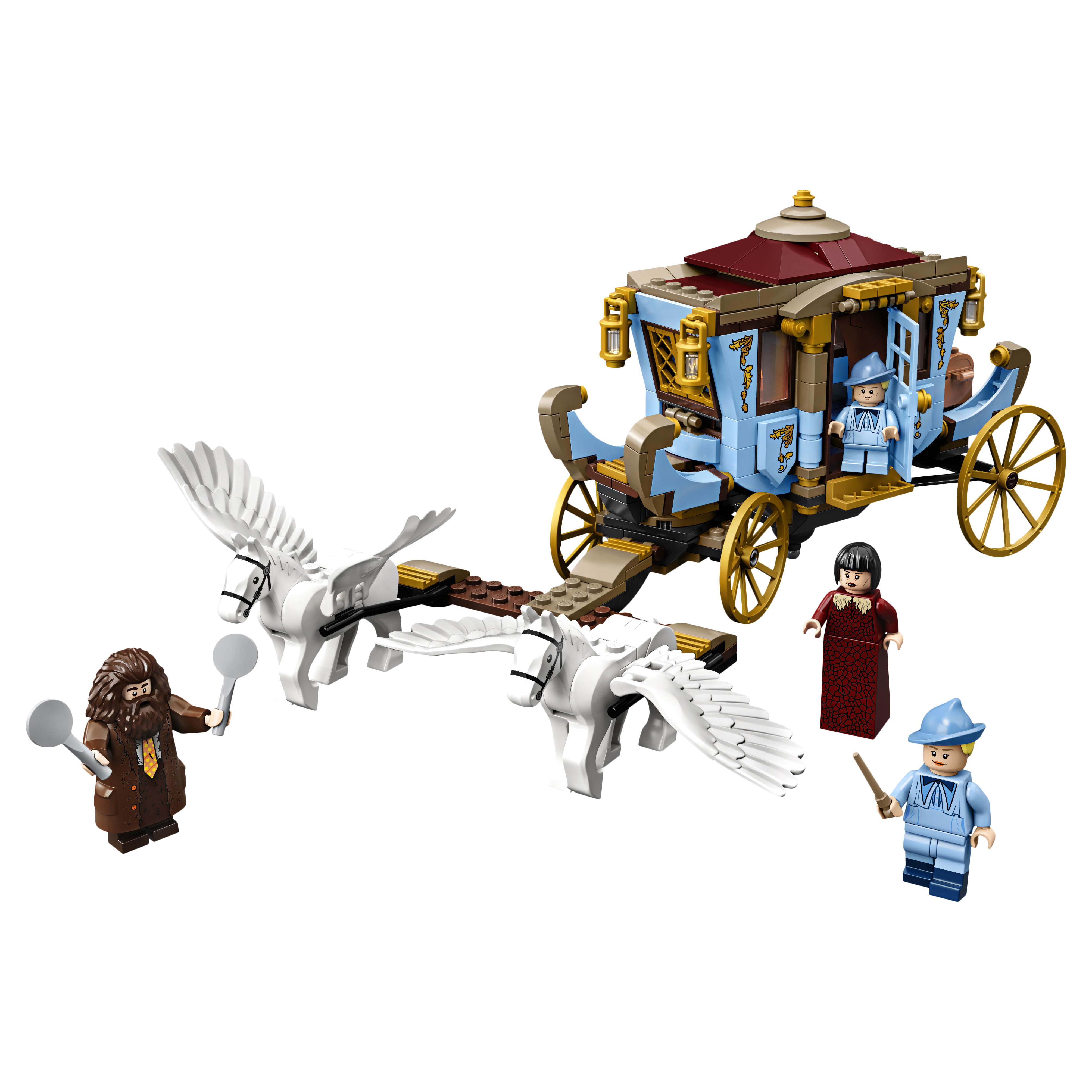 Конструктор LEGO Harry Potter 75958 Карета школы Шармбатон: приезд в Хогвартс фото