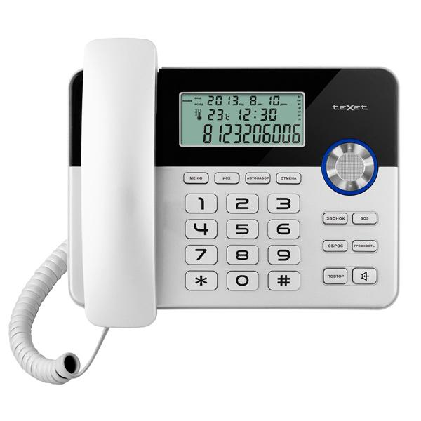 Телефон проводной teXet TX 259