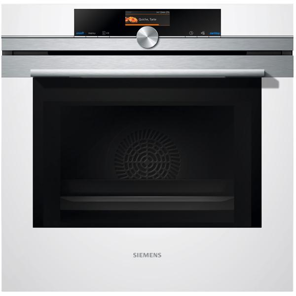 Встраиваемый электрический духовой шкаф Siemens HM636GNW1 White